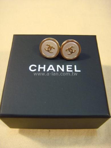 CHANEL 穿針耳環-81333808