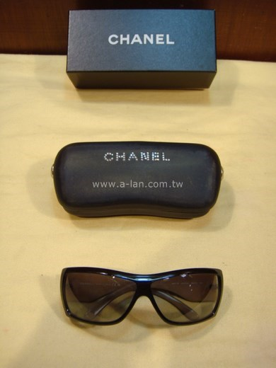 CHANEL 黑雙C鑽眼鏡-81557288