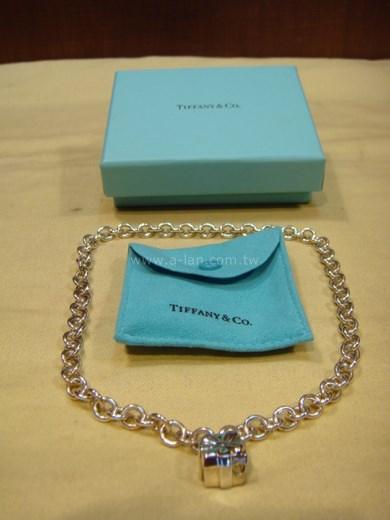 TIFFANY 銀鍊+禮盒銀飾-81557608