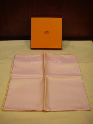 HERMES 蕾色絲巾-81557698