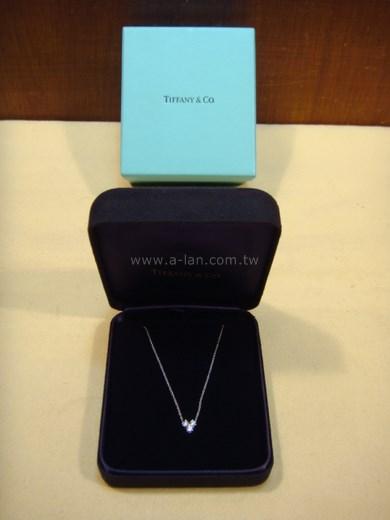 TIFFANY 三心鑽石項鍊-81557828