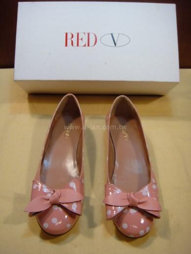 RED V 粉娃娃鞋-819751258