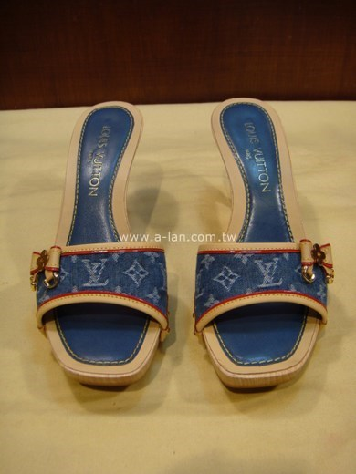 LV-單寧布高跟鞋-83057238