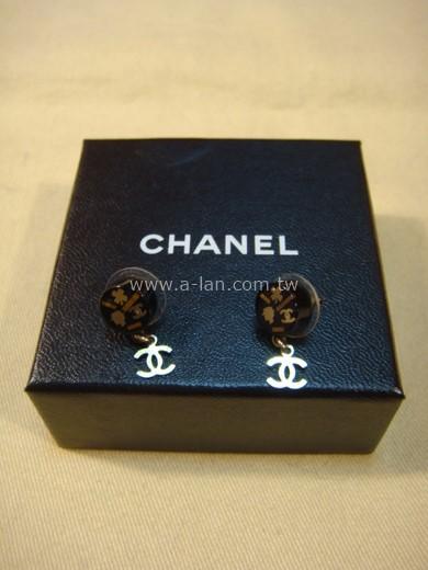 CHANEL 穿針耳環-83057358