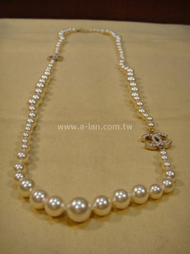 CHANEL 珍珠項鍊-84064198
