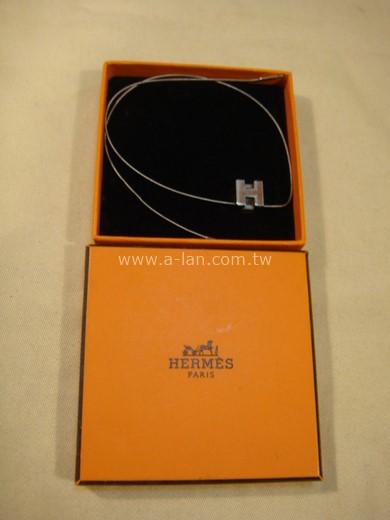HERMES 金屬H項鍊-84072198