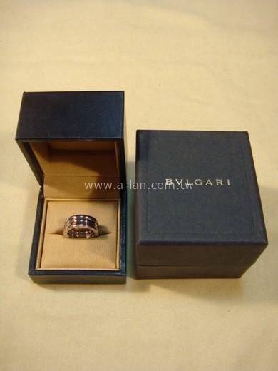 BVGARI B.zero1 18K白金三環戒指-84072408