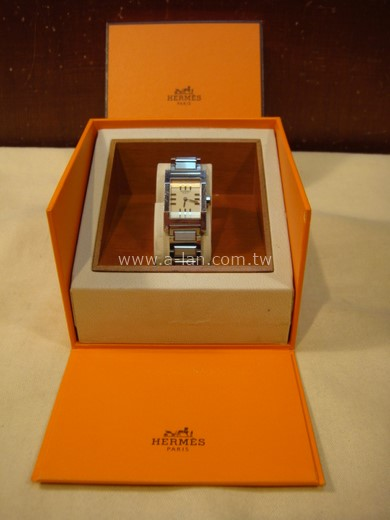 HERMES 不銹鋼鏈錶-84280128