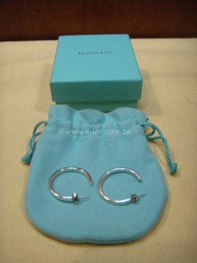Tiffany 穿針勾型耳環-84285128