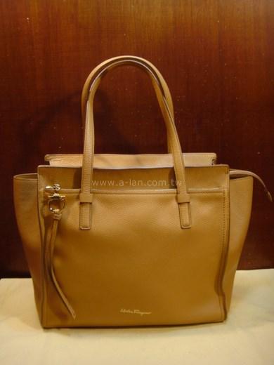 Salvatora Ferragamo 全皮雙購包-842993308