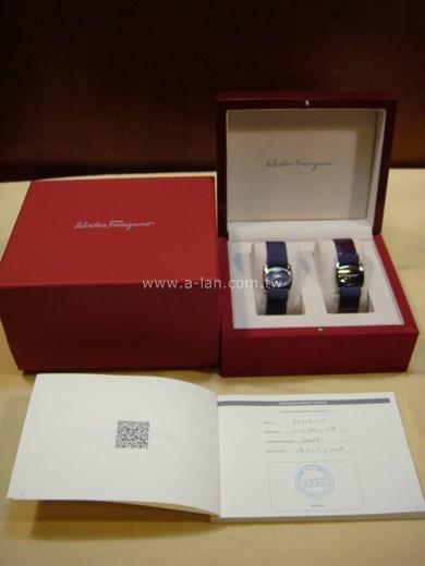 Salvatore Ferragamo  女鑽錶+手環-842994548