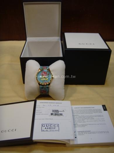 GUCCI G-Timeless 彩色印花女錶-842996668