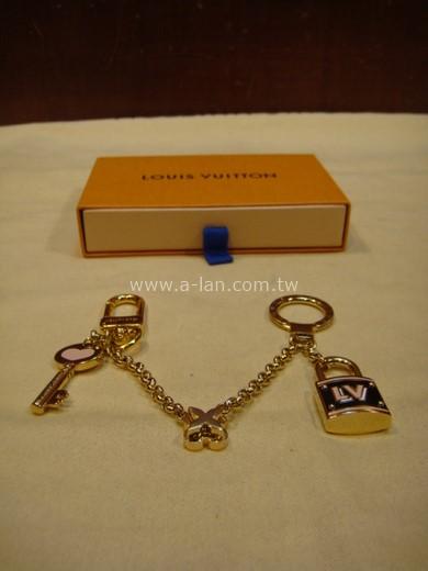 LV-M63083 BEST FRIEND CHAIN 手袋吊飾兼鑰匙扣-842997028