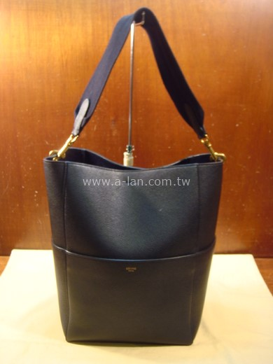 CELINE SANGLE BUCKET BAG 直式短布肩水桶包-842997808