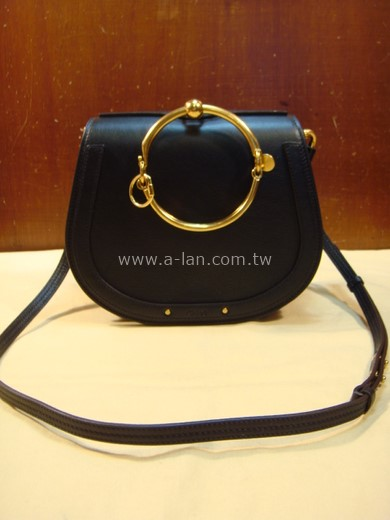 Chloe' SMALL NILE BRACELET BAG 大金環長帶包-842997828