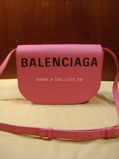 BLANECIAG VILLE DAY BAG XS 粉皮側背包-842997908