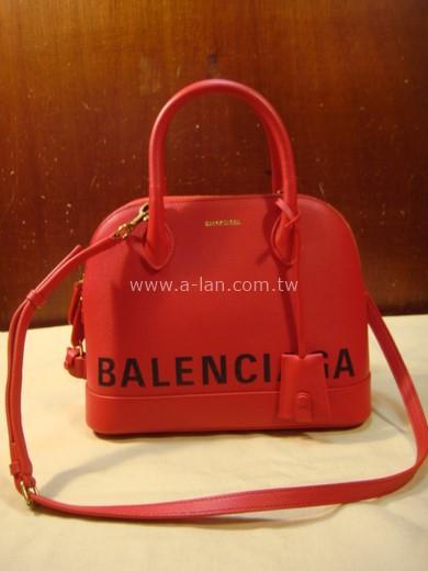 BALENCIAGA Small graffiti logo calfskin bag-842997988