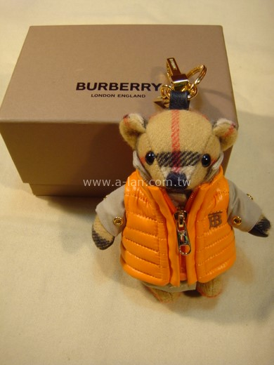 BURBERRY Thomas 泰迪熊墜飾-842998668