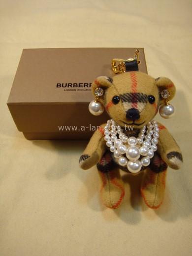 BURBERRY Thomas 泰迪熊珍珠墜飾-842998678