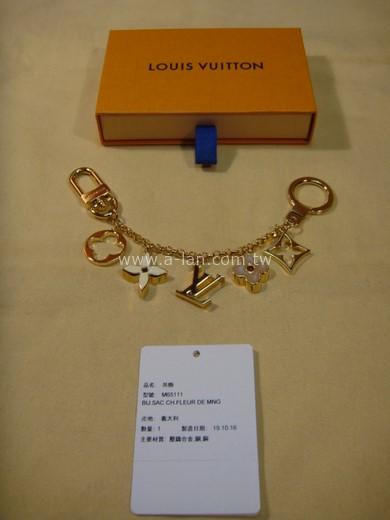 LV-M65111 FLEUR DE MONOGRAM 手袋鏈條吊飾-842999158