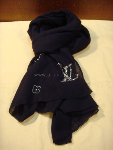 LV-喀什米爾水晶披巾-842999188