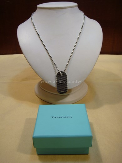 Tiffany 銀牌項鍊-84946018