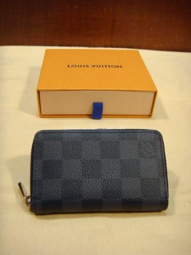 LV-N63076 黑格拉鍊夾-85138018