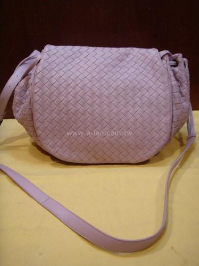 BOTTEGA VENETA  粉紫兩用側包-85176018