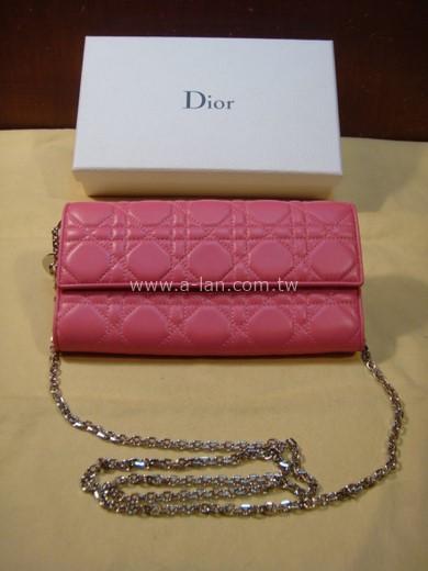 Dior 小羊皮鏈長夾-85180048