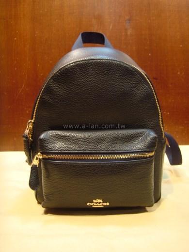 COACH 全皮後背包-85196058