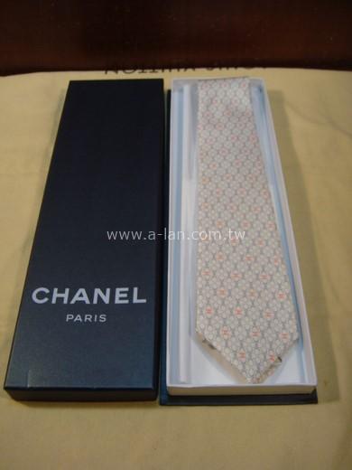 CHANEL 絲質領帶-85215748