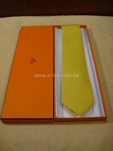 HERMES 黃絲領帶-85215798