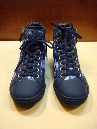 LV-藍米彩半筒休閒鞋-85365108