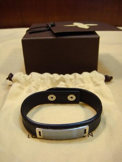 LV-M6715E 黑格皮手環-85365158