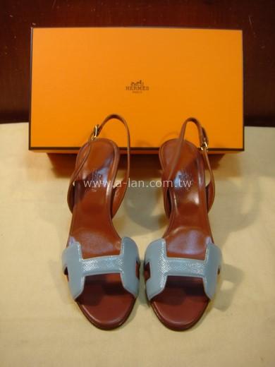 HERMES H皮底鞋-85379028