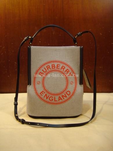 BURBERRY PEGGY 肩提兩用水桶包-853821108