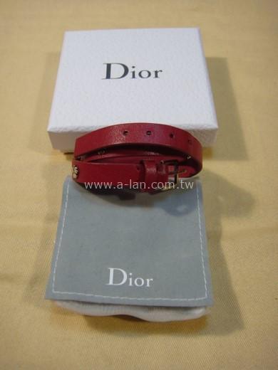 DIOR 牛皮手環-85382308