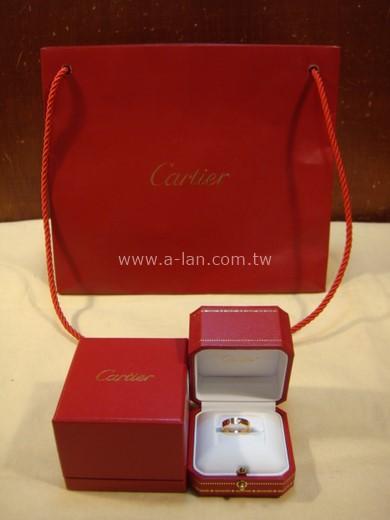 Cartier Love 單鑽18k金戒指-85401018
