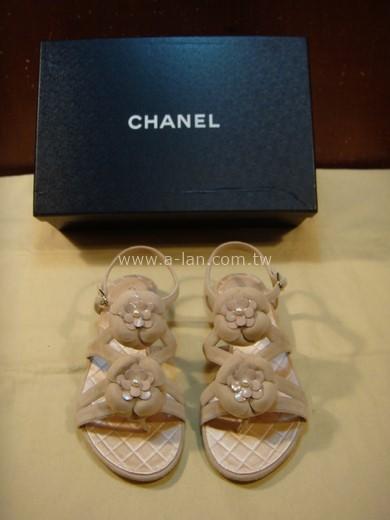CHANEL 山茶花平底鞋-85429028