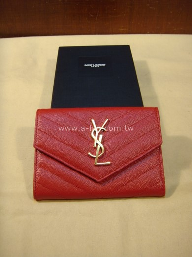 SAINT LAURENT YSL 護照夾-85437018