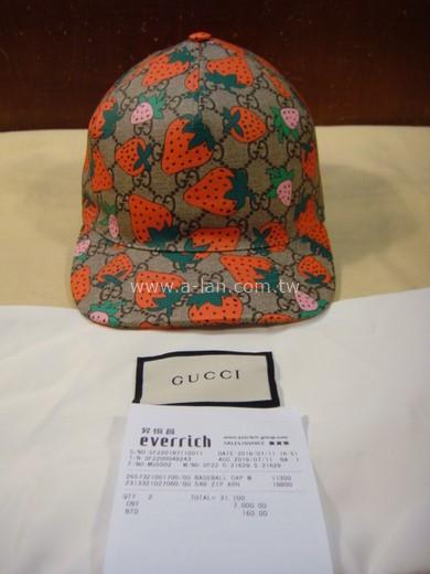 GUCCI 草莓帽-85476048