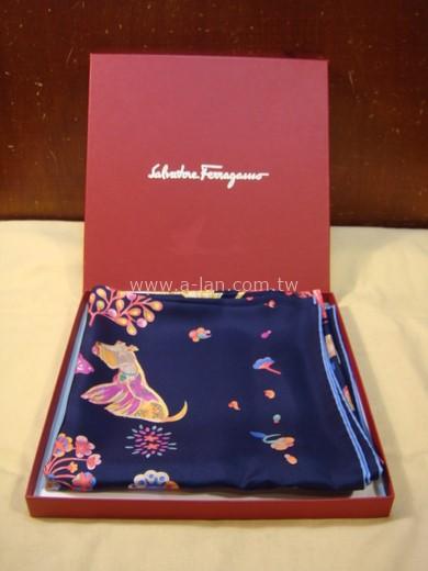 Ferragamo 方絲巾-85487018