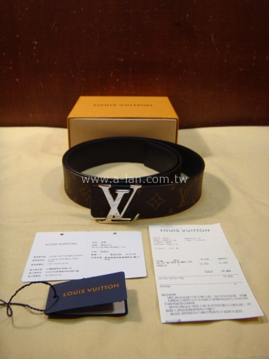 LV-M9821Q INITIALES 40毫米雙面皮帶-85500018