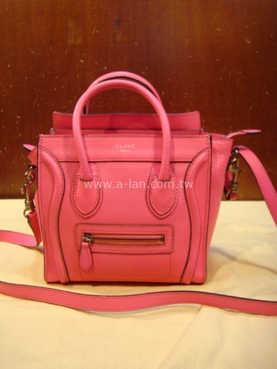 CELINE Luggage Mini 微笑包-85544018