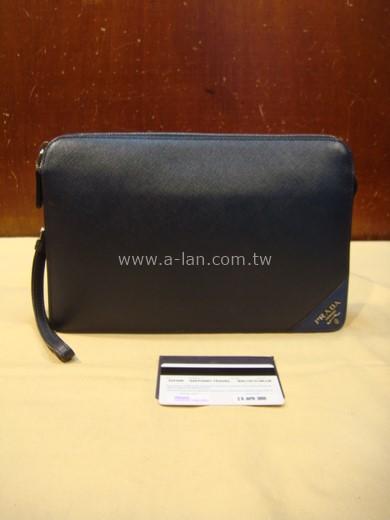 PRADA 全皮手拿包-85545018
