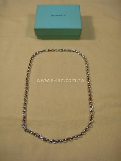 TIFFANY 銀串圓項鍊-89845658