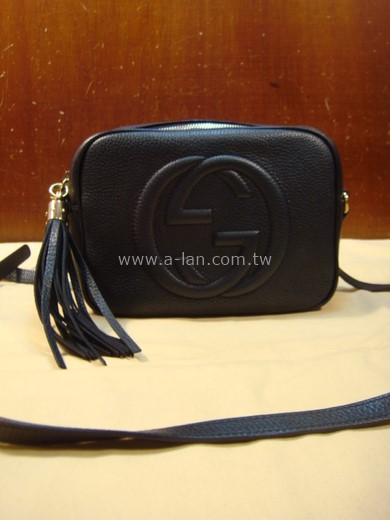 GUCCI Soho small leather disco bag 迪士可包-89846748